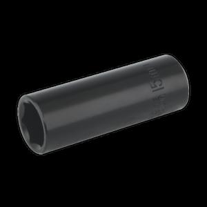 IS3815D-Sealey-Impacto-Socket-15mm-profunda-unidad-3-8-034-Sq-zocalos-de-impacto-individual