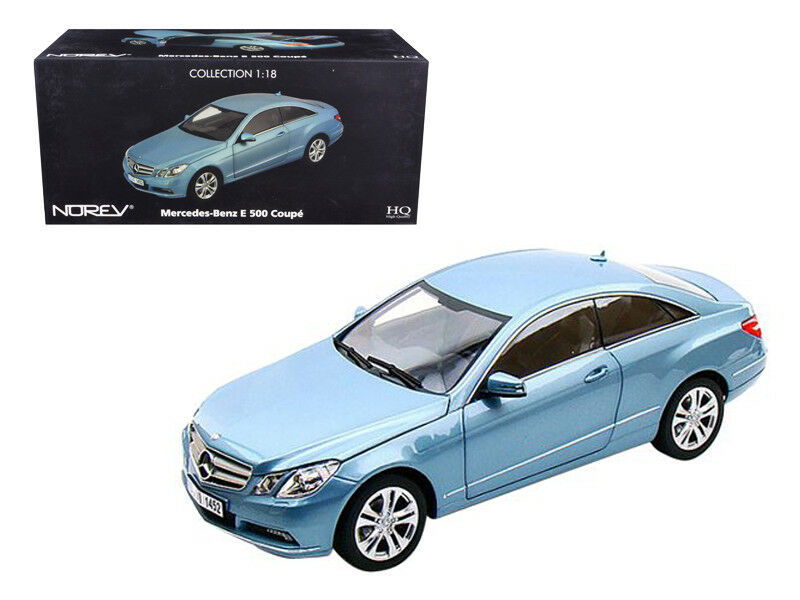 1/18 Norev 2009 Mercedes Benz E500 E Class blu Diecast Model Car blu 183542