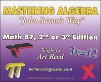 Mastering Algebra Math 8/7, 2nd Or 3rd Edition
