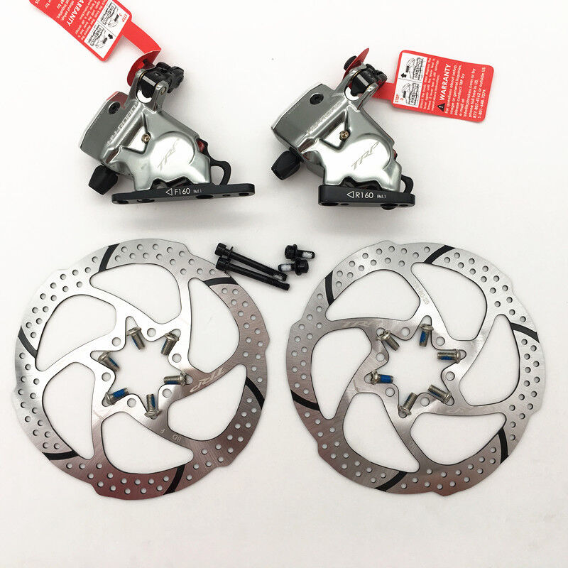 TRP HY RD Flat Mount Cable-Actuated Hydraulic Disc Brake 160mm redor Front Rear