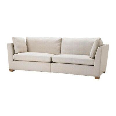 IKEA Stockholm 3.5 Seat Sofa SLIPCOVER Gammelbo Beige COVER Last Ones   eBay