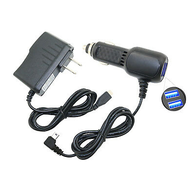 Car Vehicle Charger AC Adapter Cord for Garmin NUVI 2455 2475 2495 2555 LM LMT