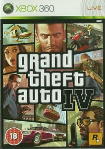 XBOX 360 game GRAND THEFT AUTO 4 Boxed and Complete