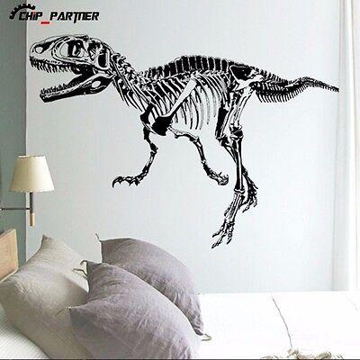 Dinosaur Fossil Wall Sticker Room Wall Decal Wall Poster Cartoon Mural Decor