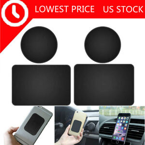 4X-Replacement-Mount-Metal-Plate-Adhesive-Stickers-for-Magnetic-Phone-Car-Holder