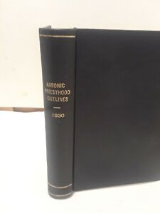 Aaronic Priesthood Outlines-  1930-  Missionary Themes No. 2  (LDS, MORMON BOOKS