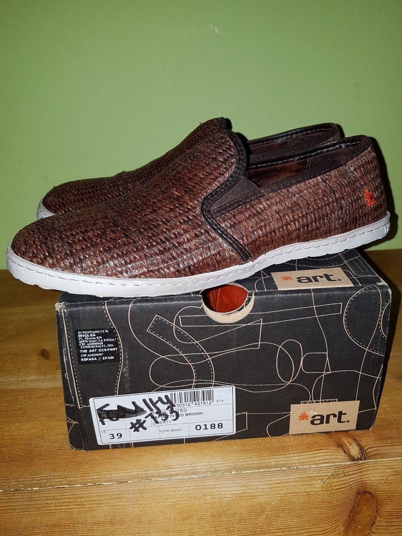 Cheap UK6 EU39 Mens Boys ART Rafia casual shoes trainers catalogue return