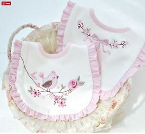 4PCSBaby-Girls-Pink-Embroidered-Bibs-with-Snaps-Saliva-Towel-Bibs-Feeding-Saliva