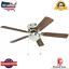 Harbor-Breeze-Armitage-52-in-Brushed-Nickel-Indoor-Flush-Mount-Ceiling-Fan-Best thumbnail 1