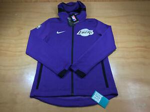 Nike Nba Lakers Los Angeles Lakers Showtime Dri Fit Zip Up Hoodie Jacket Xl Nwt Ebay