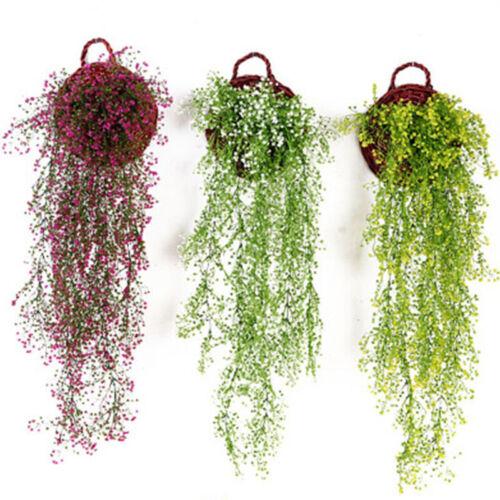 Fake Foliage Trailing Hanging Flower Leaf Ivy Vine Garland Artificial Plants