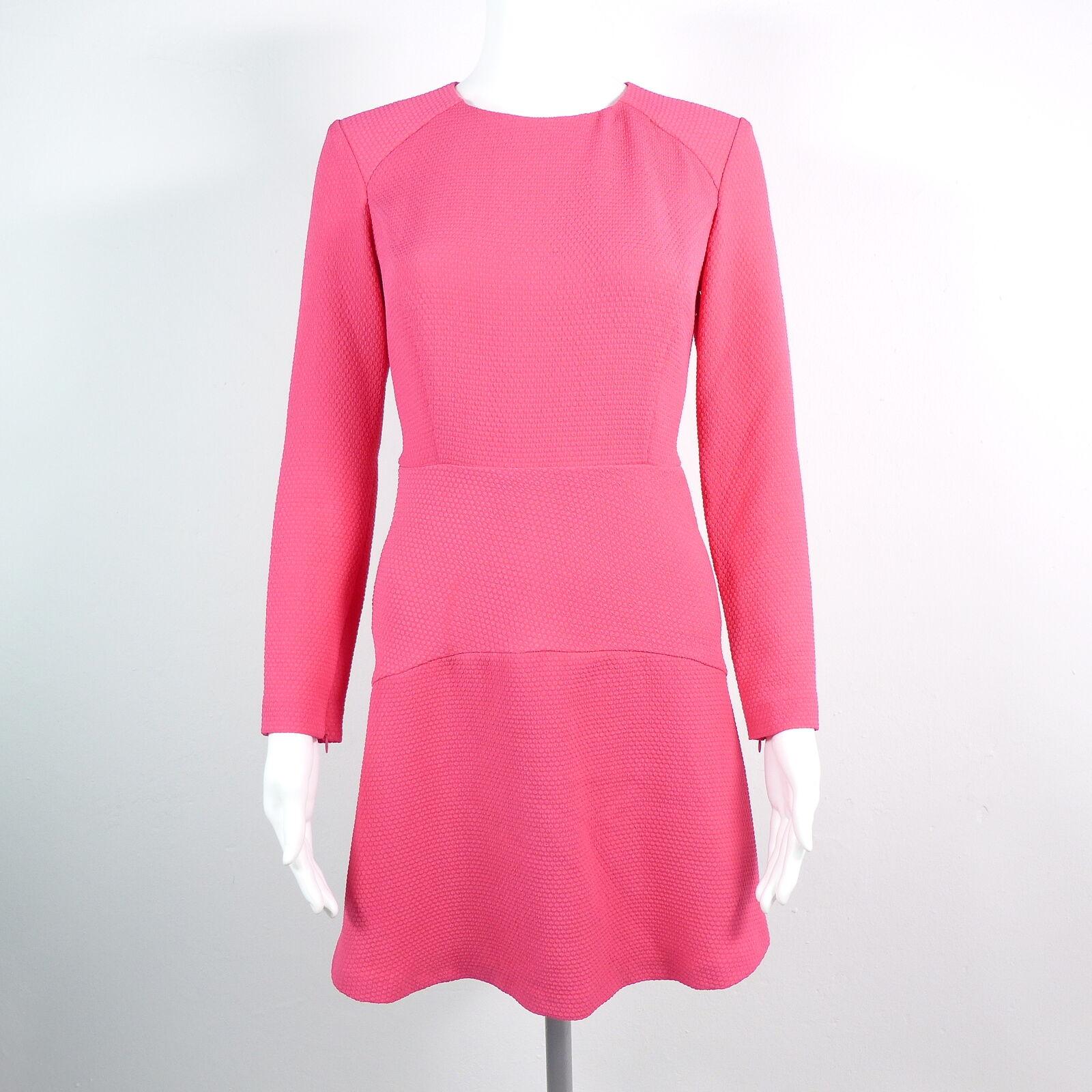 SANDRO PARIS Kleid Cocktail Gr.1 DE 34 36  Rosa Rosa Damen Robe Dress