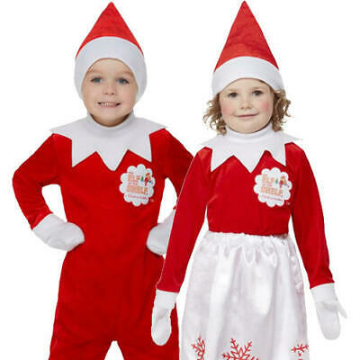 UK SELLER Boy or Girl Choice of 3 Styles Christmas Elf