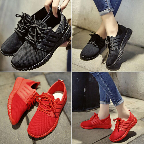 Womens Sport Shoe Casual Shoes Breathable Sneakers Running Lace Up Athletic Mini
