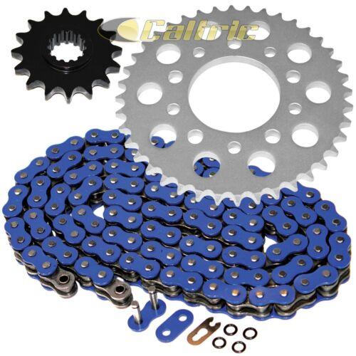 Blue O-Ring Drive Chain /& Sprockets Fits HONDA VF750C Magna 750 RC43 1994-2004