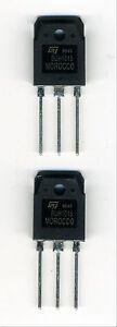 Lot De 2 Transistors Buh1015 Npn Crt-ha 1500v 14a 160w 25zzutu3-07181233-793136192
