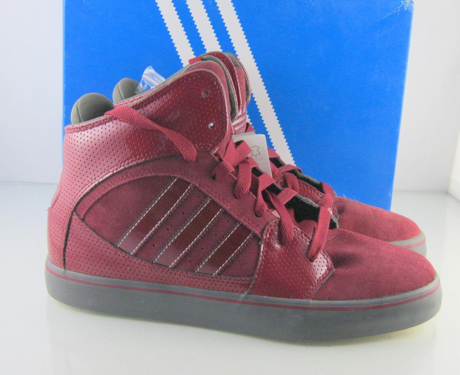 Originale adidas hillsdale g24957cardin / / / eisen / rouge / acier rote mens größe 10. 4bfedb