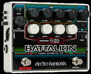 EHX Electro-Harmonix Battalion Battalion Battalion Preamp & Di Pedal de efectos de guitarra  se descuenta