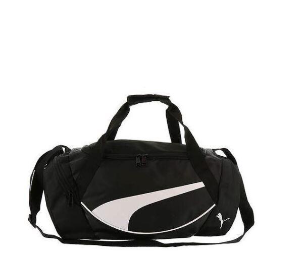 PUMA Prelude Medium Duffel Gym Bag Navy Blue - Black   eBay 72a000ee61
