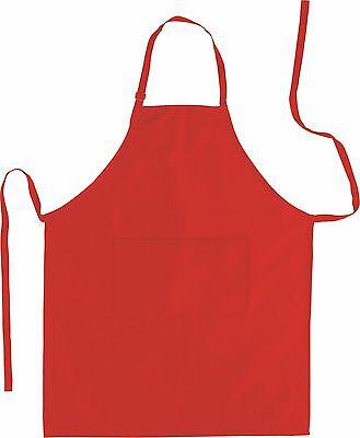 Küchenschürze - Grillschürze - Latzschürze 100% Baumwolle 70 x 85 cm