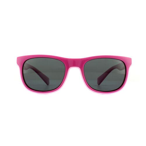 Polaroid Kids Sunglasses PLD 8035//S MU1 M9 Fuschia Grey Polarized