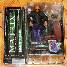 MCFARLANE TOYS MATRIX RELOADED REVOLUTIONS SERIES TWO 2 MORPHEUS IN CHAIR MIB