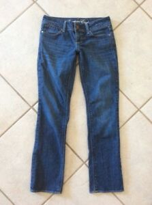 WOMENS-American-Eagle-JEANS-Straight-77-Stretch-SIZE-2-S-Very-Nice