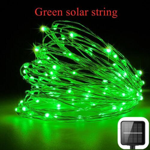 200 LED Solar Power Lamp Light Fairy String Party Wedding Decor Garden Outdoor