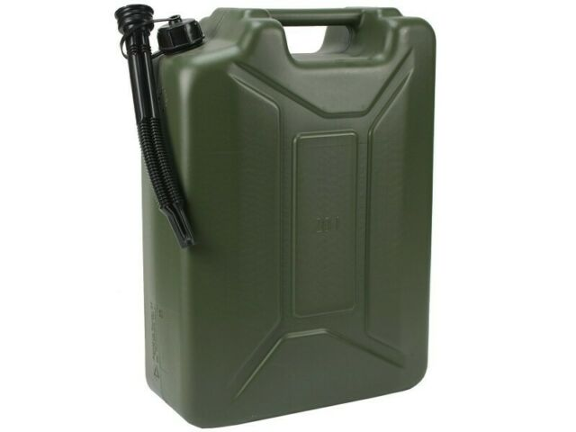 Kraftstoffkanister Kunststoff Oliv 20L