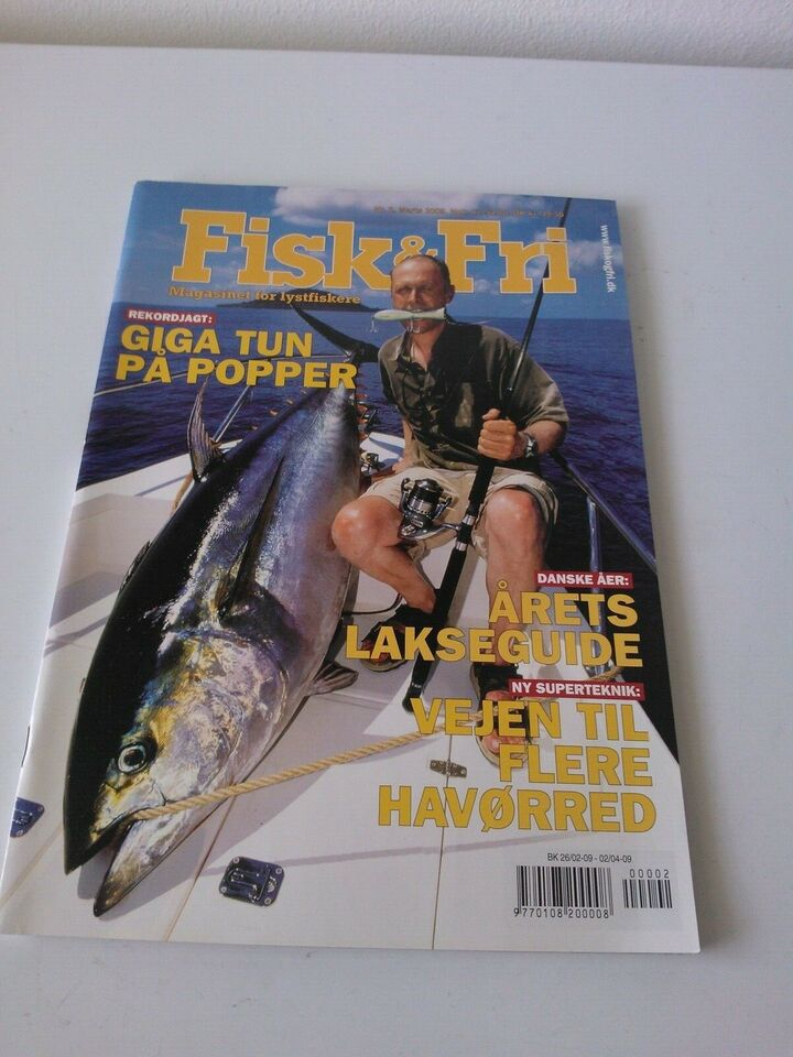 Fiskebøger, FISK & FRI 237 stk. KR. 200.-