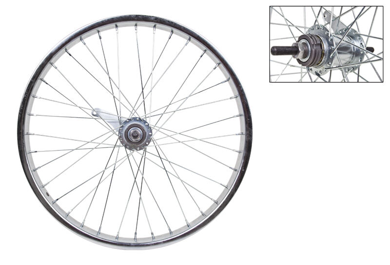 Rear Bicycle Wheel 20x1.75 406x25 Steel CP 36 KT Coaster Brake 110mm 14gUCP w TR
