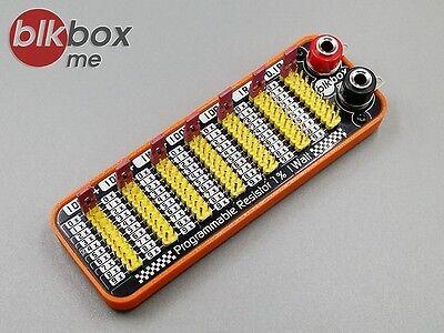 Seven Decade Programmable Resistor 0.1R - 999999.9R 1% 1W Step 0.1R