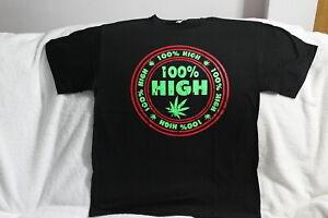Tie Dye Pot Leaf Long Sleeve T-Shirt Smoking 420 Weed Cannabis Marijuana Tee