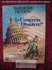 Saturday Review March 3 1979 IS CONGRESS OBSOLETE TAD SZULC STEVEN FERREY