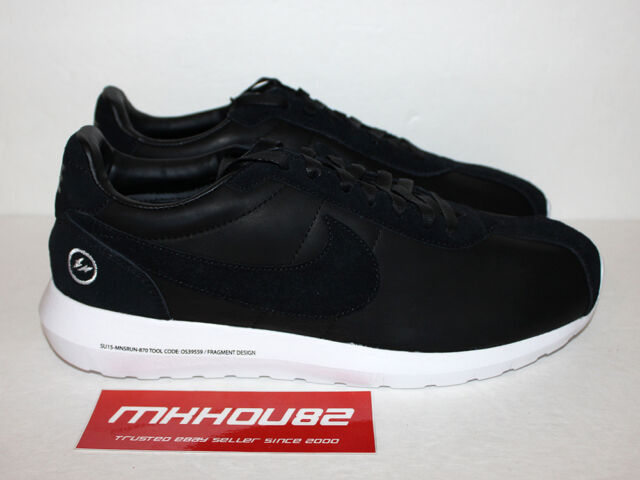 e15dfd04 New Nike Roshe LD-1000 By Fragment SP Run Rosherun Black htm Shoes Size 10.5