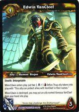 WOW TCG Edwin VanCleef Dungeon Treasure 27/60 - WORLD OF WARCRAFT ENG MINT