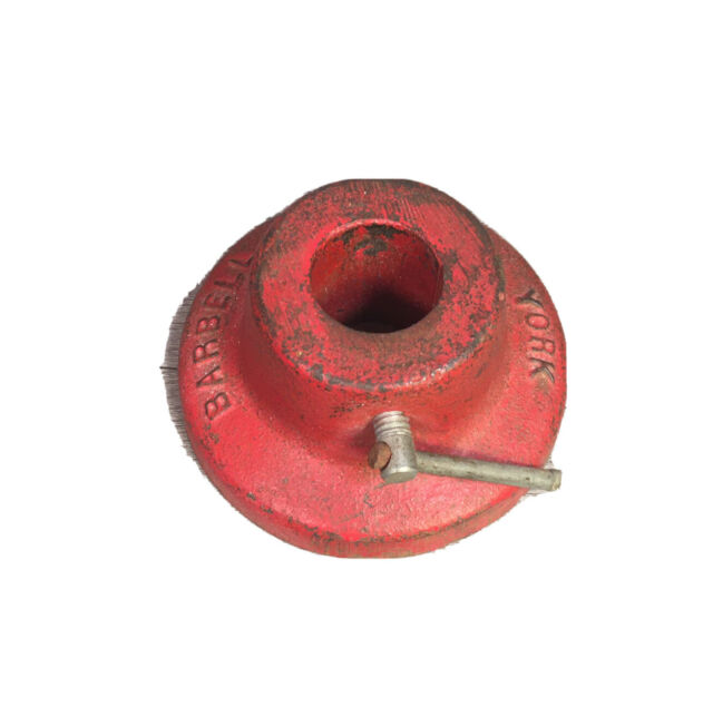 -1- Vintage York Barbell Weight Collar for 1