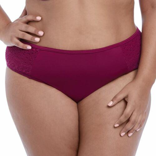 Elomi Swimwear Indie Mid Rise Bikini Brief//Bottoms Berry 7534