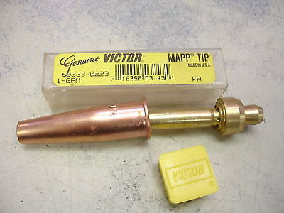 Victor Cutting Torch Tip $32 Victor Mapp 2-3-GPM 0333-0383