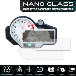 BMW-S1000-R-RR-XR-2015-NANO-GLASS-Dashboard-Screen-Protector-x-2