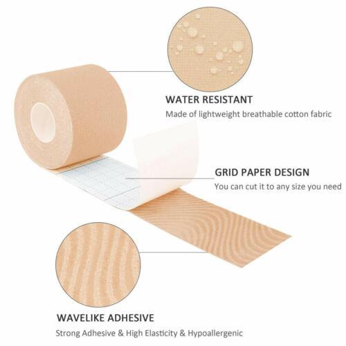 5M Invisible Breast Lift Tape Roll Push-up Boob Shape Bra Nipple Cover Sticker