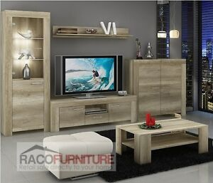 Amazing Image Is Loading TV Wall Unit SKY New Modern Set Of  Part 24