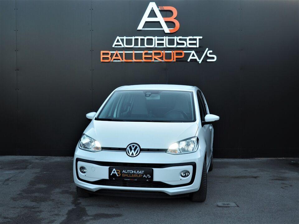 VW Up! 1,0 MPi 60 White Up! BMT Benzin modelår 2017 km 26000