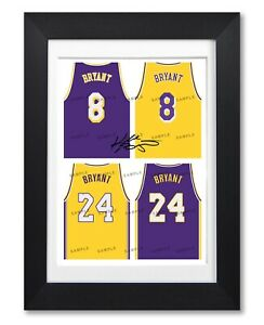 Details about KOBE BRYANT LA LAKERS SIGNED POSTER PRINT PHOTO AUTOGRAPH JERSEY SHIRT GIFT L.A.