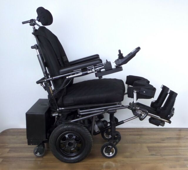 REDMAN standing wheelchair - R-NET power stand-up, Frog Legs, ROHO - vs  permobil