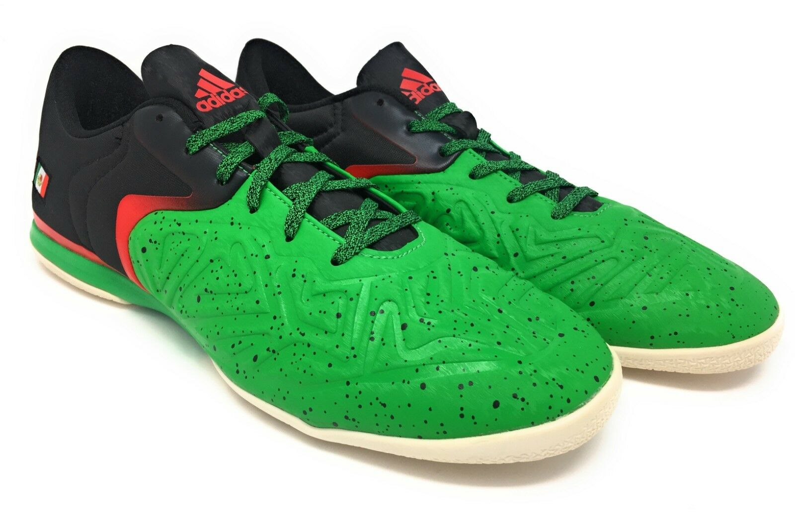 New Mens Adidas 15.2 X Indoor Indoor Indoor Soccer shoes Boots MEXICO colors Size 11 US 13497e
