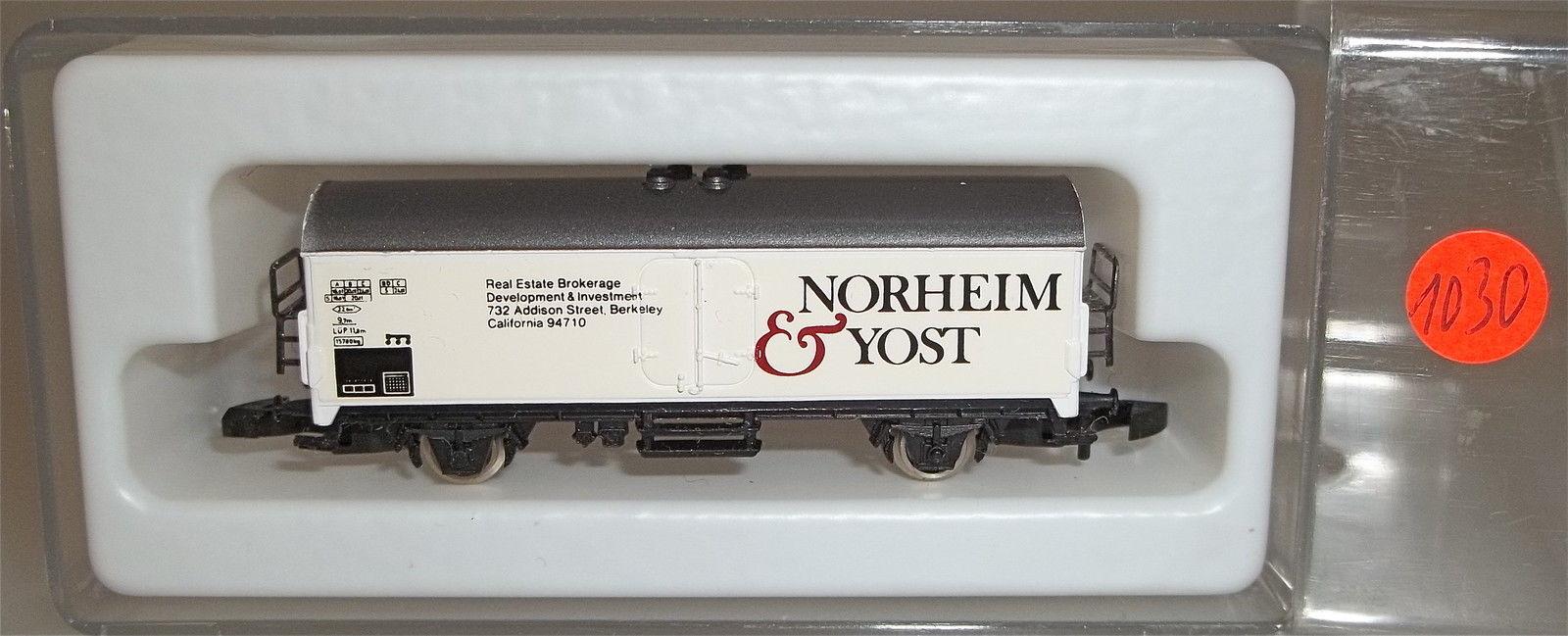 Norheim e Yost partire 897   8600 Traccia Z 1:220 1030 å