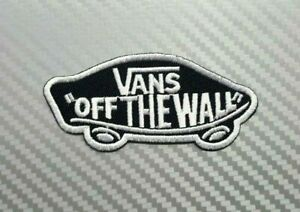 VANS OFF THE WALL SKATEBOARD SPORTS BIKER CAP Embroidered Patch ...