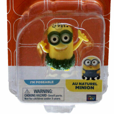 Au Naturel Minion Mini Figure 20214 Despicable Me Minions Movie