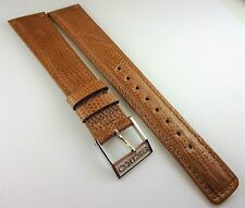 AUTHENTIC SEIKO GENUINE LIZARD TAN 18MM WITH 15MM SEIKO BUCKLE!!!